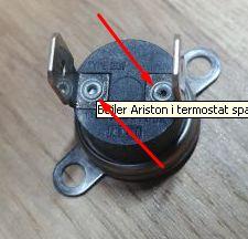 Bojler Ariston i termostat spalin