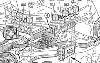 Volvo FH12 460KM 2004 r. - Brak świateł wstecznych , cofania