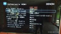Amplituner Denon AVRX1300W - połączenie z TV.