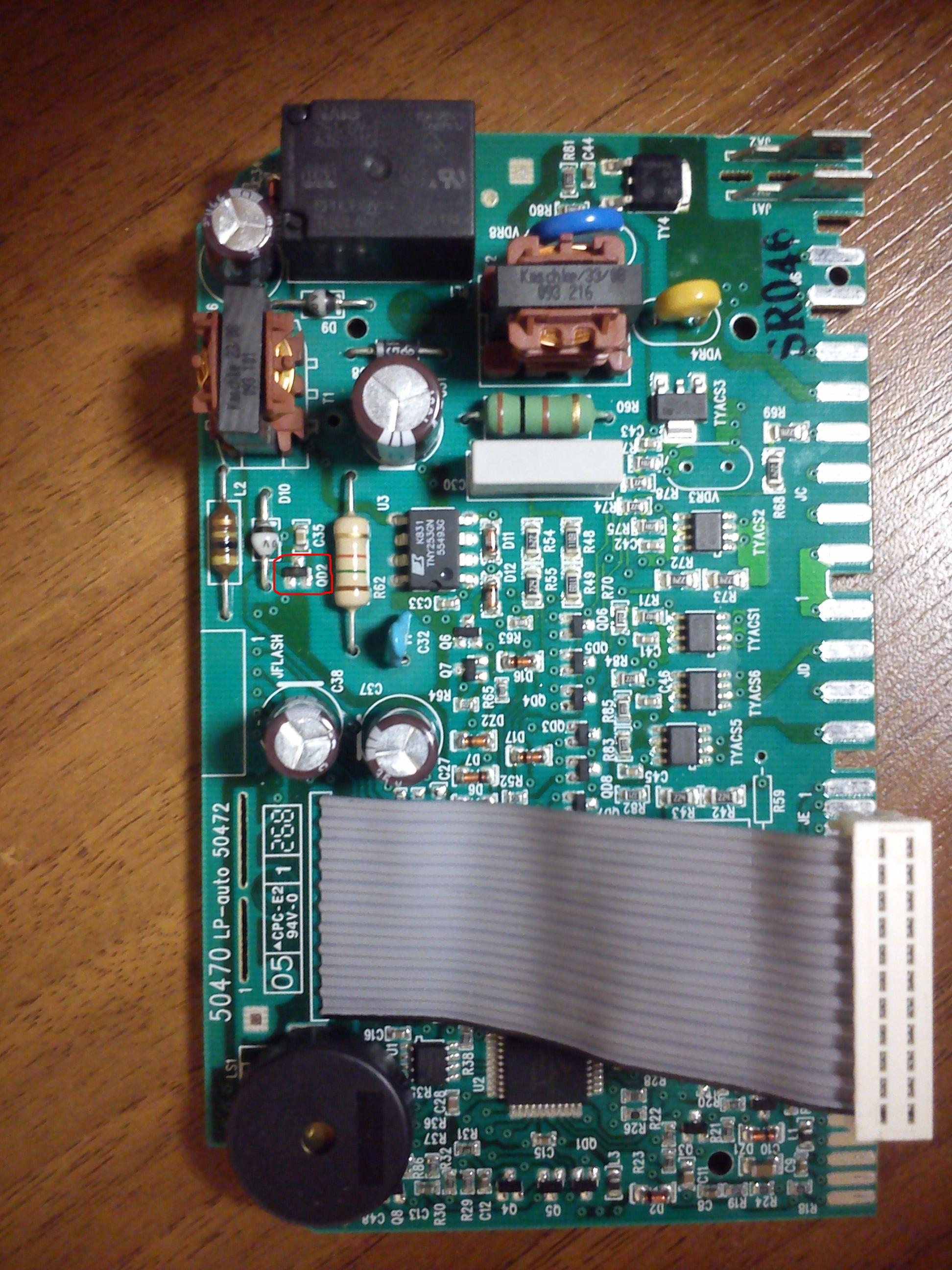 AEG 60010VI - modu� steruj�cy - jaka dioda Zenera