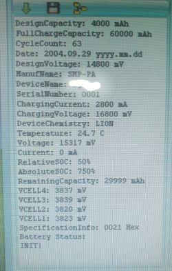 R2J240 - Balanser od baterii laptopowej 14.4V