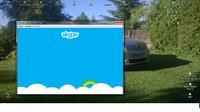 Skype - Brak okienek do logowania si�.