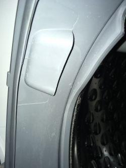Pralka Bosch WLT24460PL/09 - starty, liczny, drobny gumowy osad w kolorze fartuc