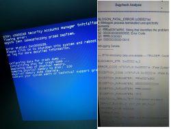 - Lenovo laptop automatyczne wyłączanie reset c00002e3 c000021a .smb cve 2017-01