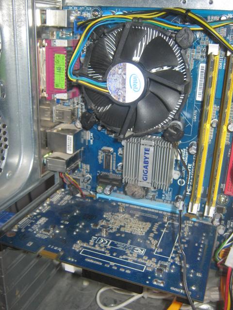 Zacinanie si� komputera podczas wi�kszego wysi�ku.