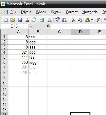 Excel - Filtrowanie w excelu