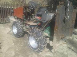 Ciągnik SAM Mini LKT - Prezentacja