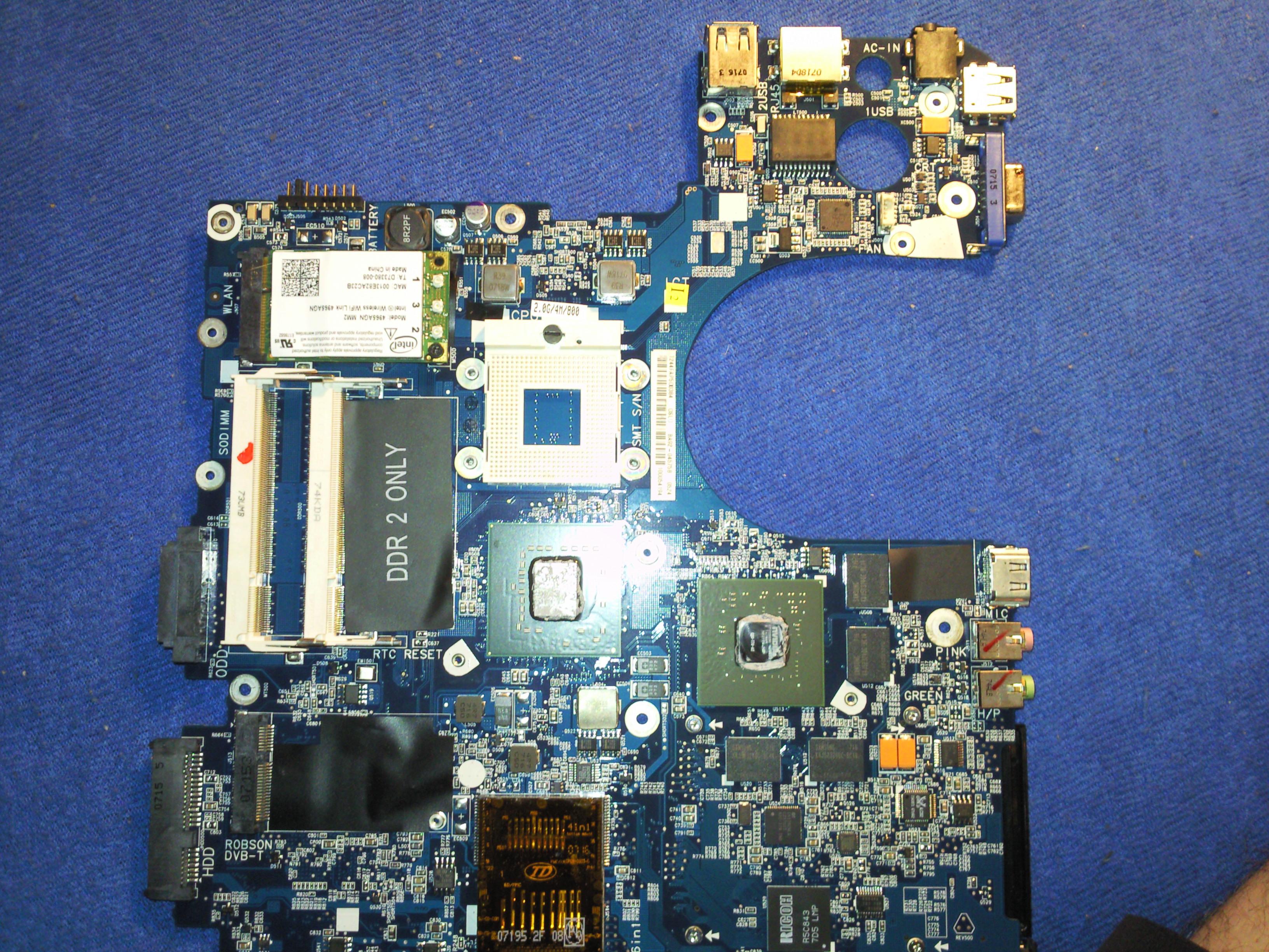 Samsung R70 kompletnie martwy, prosze o pomoc