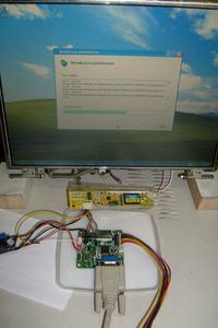 Matryca LCD z laptopa jako niezale�ny monitor