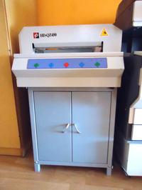 [Sprzedam] Gilotyna do papieru elektryczna HD-QZ 450 NOWA CENA!