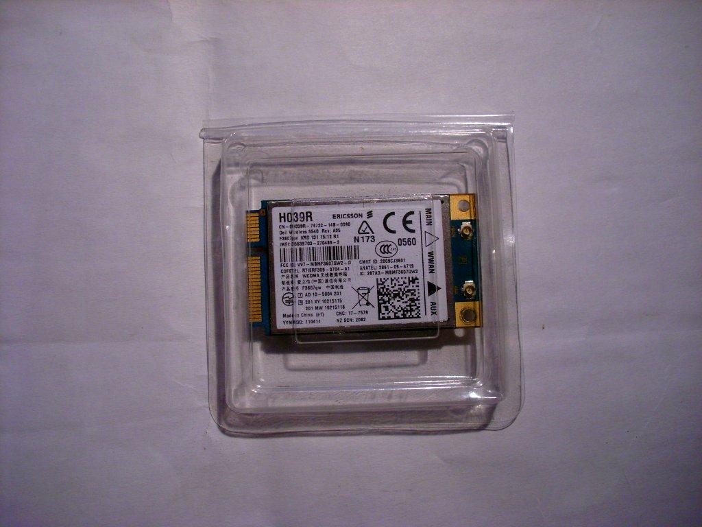 [Sprzedam] Modem 3G Dell 5540 H039R F3607gw Aero2 GPS