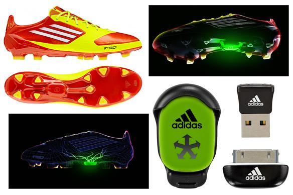 Adidas adizero f50 buty z bezprzewodowym czujnikiem dla