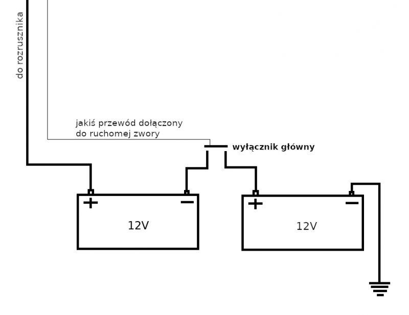 Belarus 800/820 - Jak jest ładowany drugi akumulator?
