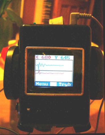 Samochodowy G-meter [ATMEGA + MMA6231Q]
