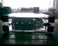 Wzmacniacz stereo 2x100W/8R - mój pierwszy projekt DIY