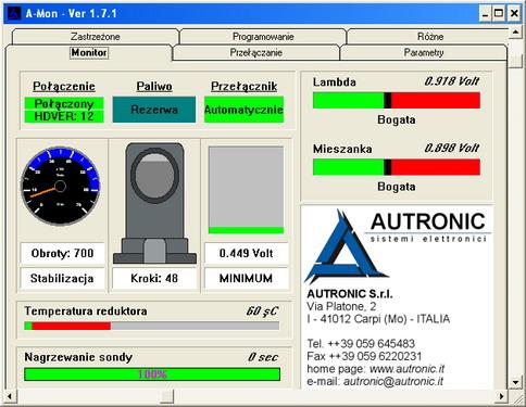 AL-700 A-Mon Regulacja Megane 1.4