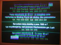 Telestar R0110NP - częste rozmycie obrazu