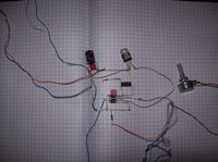 Stroboskop diodowy z lampy 45LED na układzie NE555