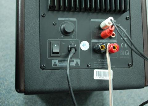 Podłączenie Amplitunera do aktywnych kolum