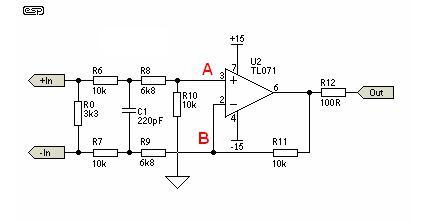 Nadajnik i odbiornik sygnału symetrycznego