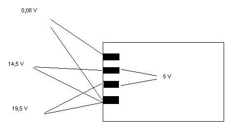 HP Compaq 6715s - brak podświetlenia matrycy
