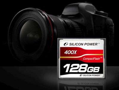 Silicon Power - pierwsza karta CF 400x o poj. 128 GB