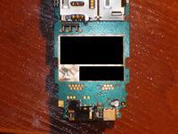 Nokia e51 brak elementów na płycie. Nie ładuje baterii.