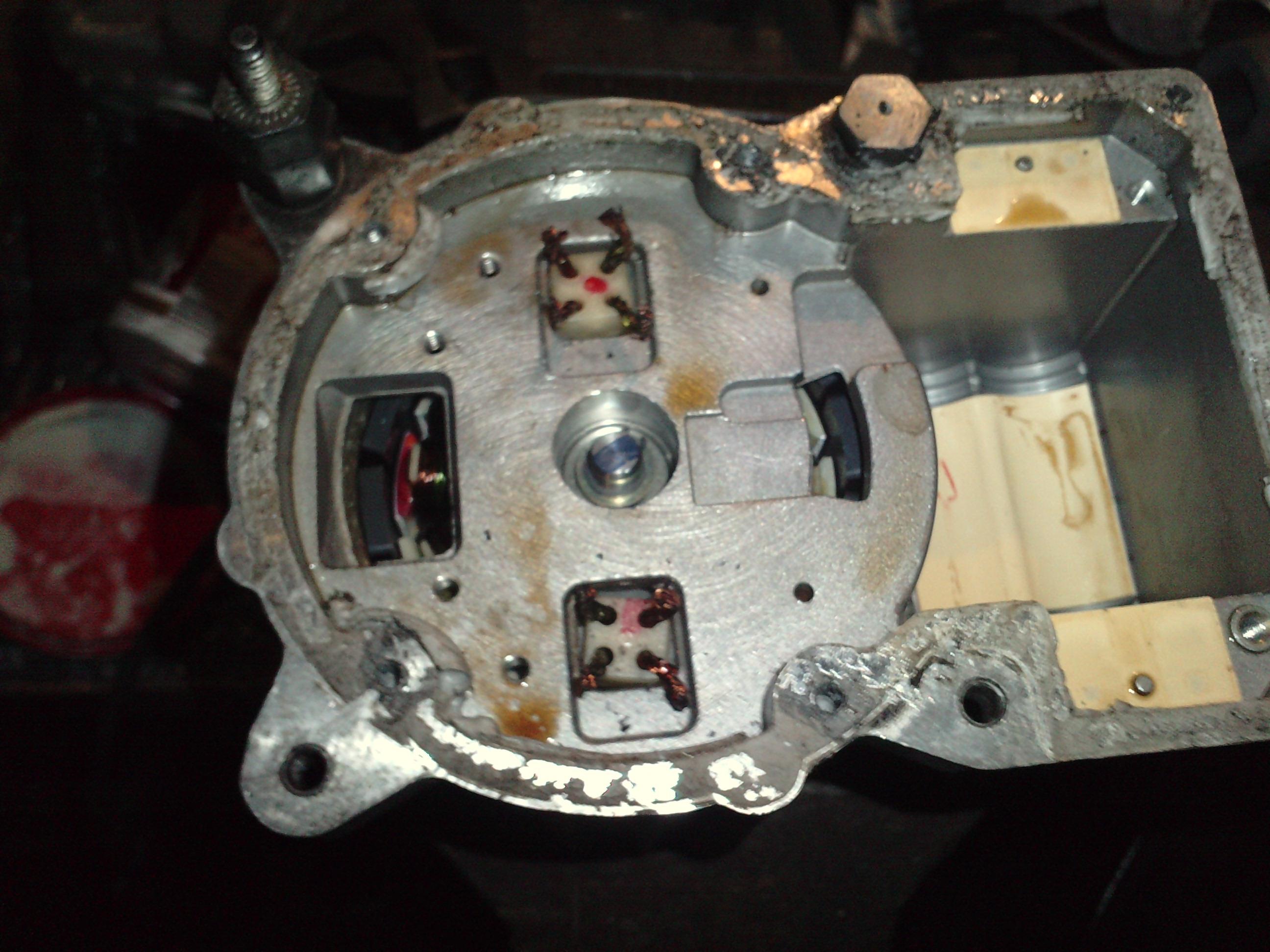 Pr�dnica z silnika bezszczotkowego od wspomagania trw