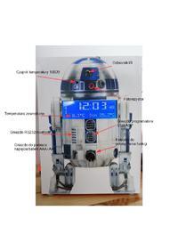Zegarek biurkowy dla fanów Gwiezdnych Wojen