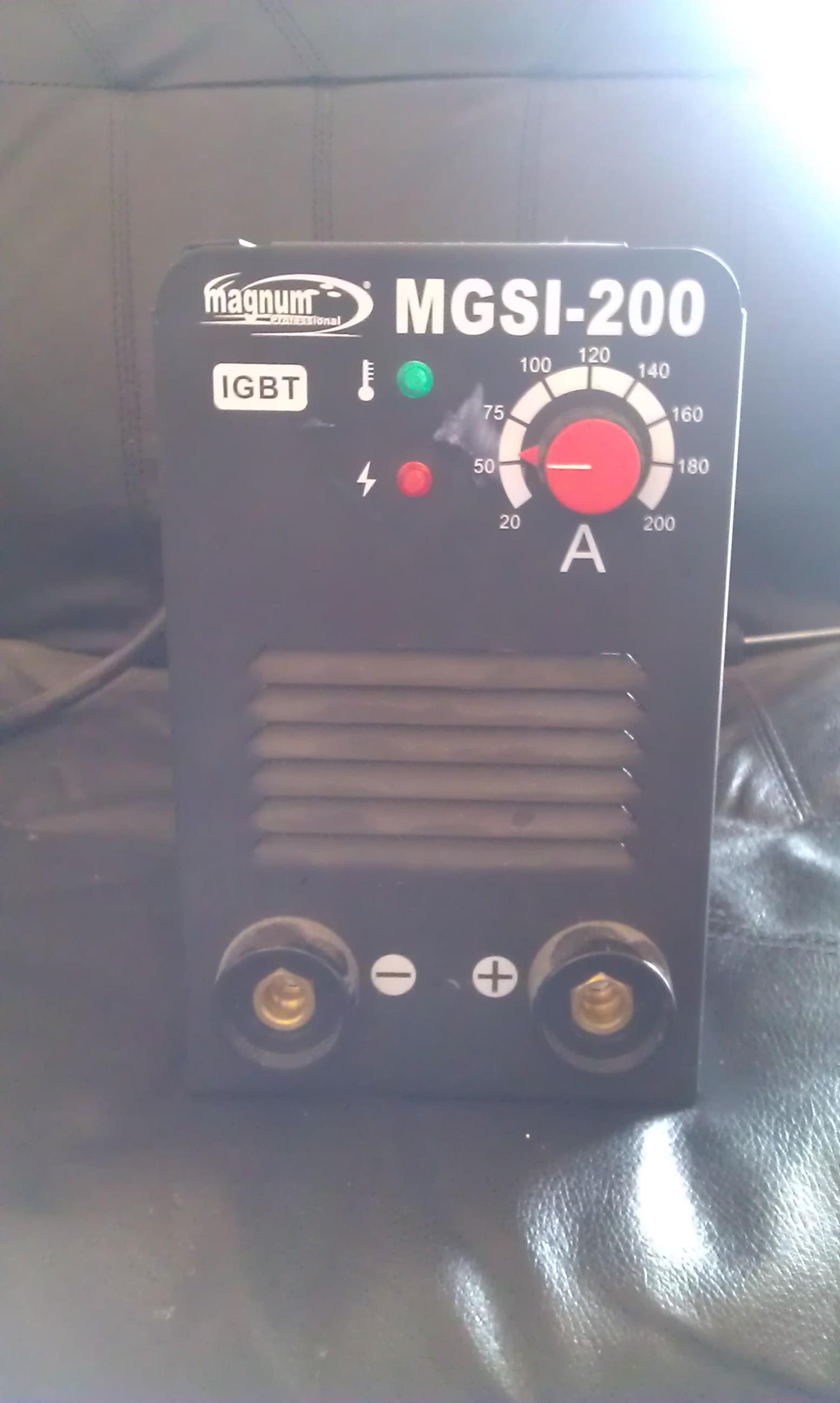 Spawarka inwertorowa Magnum MGSI 200 uszkodzona przetwornica