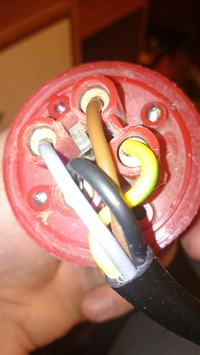 Pilarka Krajzega - Jak podlaczyc 4 zylowy kabel na wtyk 5 i 4 pinowy ?