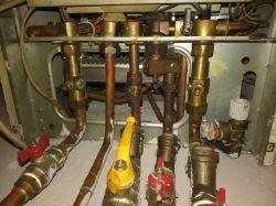 Vaillant VUW 240 - 3: niskie ciśnienie / zawór napełniający