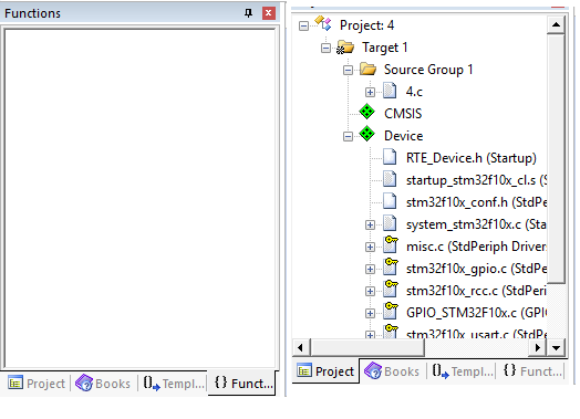 some questions about GPIO under cmsis library - Keil forum