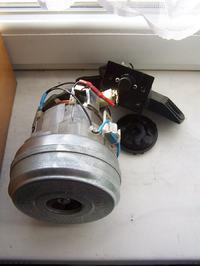 Odkurzacz zelmer typ 338,5 skrzywiona turbina, jak wyprostować?