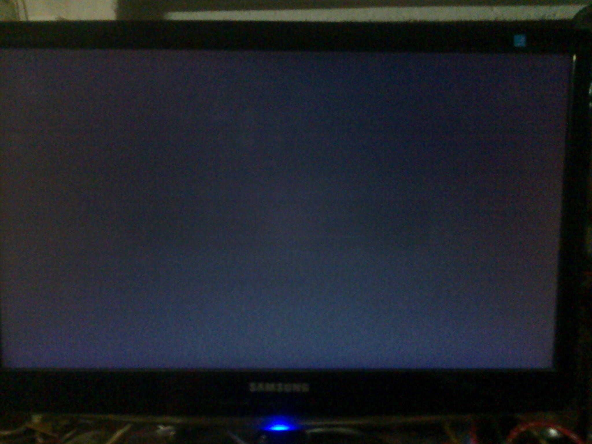 Samsung B2230HD - Prawie nic nie wida� na ekranie