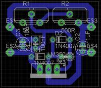 Sprawdzenie schematu regulatora napi�cia lm350