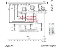 Automatyczny w��cznik �wiate� do AUDI A4 B7 - pod��czenie