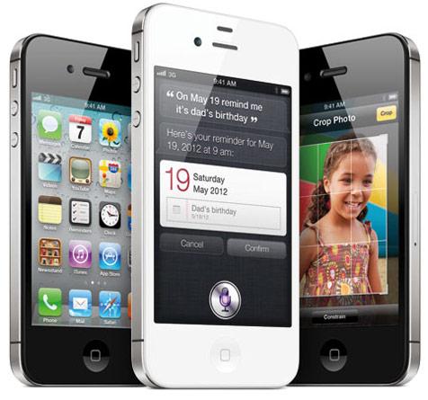iPhone 4S bije rekordy sprzeda�y - milion zam�wie� w jeden dzie�