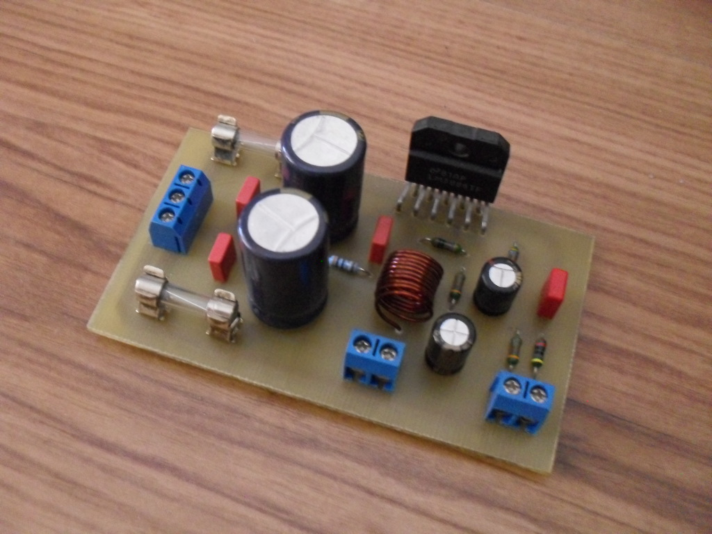 [Sprzedam] 3x Ko�c�wka mocy na uk�adzie LM3886 GAINCLONE
