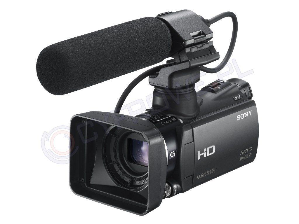 sony HXR-MC50e nagrywa tylko szum
