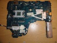Toshiba C660 - Zalana p�yta g��wna.