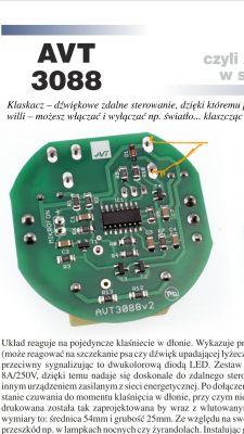 Niedziałający Klaskacz 230V, AVT3088