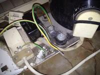 Mińsk, kabel na płytce przy agregacie
