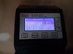 Sterownik solarów Geco G-422 podświetla, nic nie wyświetla.