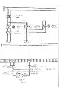 Schemat silnika - rozruch(sekwencja stycznik�w)