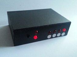 Zegar binarny z 6 LED-ami na PIC12F683