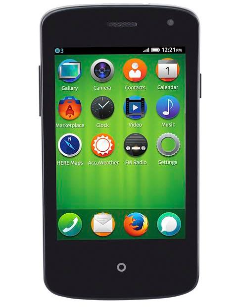 """Spice Fire One Mi FX 1 - smartphone z 3,5"""" ekranem, Dual SIM i Firefox OS"""