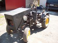 Ciągnik Sam 126p - moja pierwsza konstrukcja