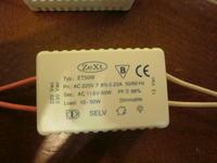 Zasilacz do Taśmy LED 5m z zasilacza halogenów?