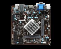 MSI J1800i - p�yta Mini-ITX z pasywnie ch�odzonym Celeron J1800